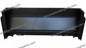 MWC9340 CAB BASE ASSEMBLY-BACK BOTTOM ALIMIUM PANEL--